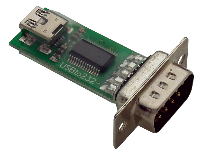 Parallax USB-to-Serial(RS-232) ADAPTER #28030