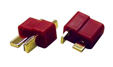 Deans-Style Ultra Male/Female Plug Set