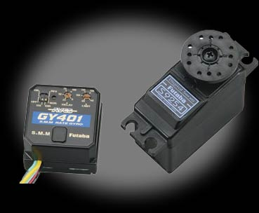 Futaba GY401 Gyro with S9254 Digital Servo
