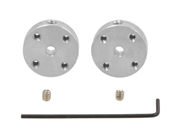 3mm Aluminum Mounting Hub - Set of Two