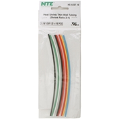 Heat Shrink 2:1 Assorted Colors 1/16 inch (10 pcs)