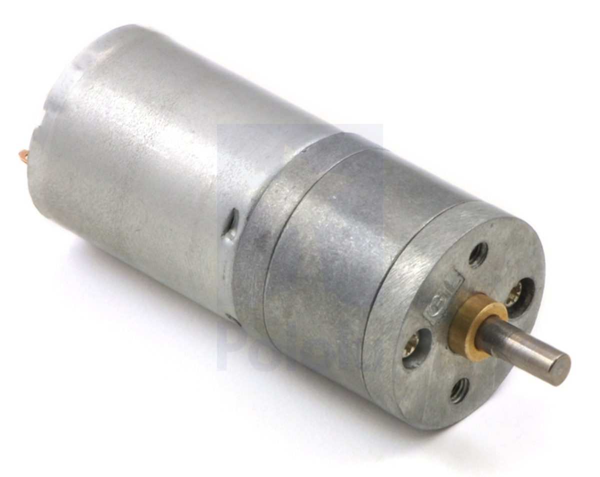 34:1 Metal Gearmotor 25Dx52L mm HP 12V