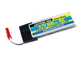 Lectron Pro 600mAh 1S 3.7V 35C LiPoly Pack - Blade 120