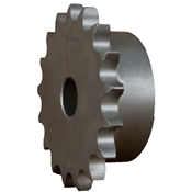 1/4 pitch Type B Sprocket - 16 teeth, 1/2 inch bore