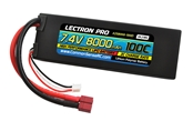 Lectron Pro 7.4v 8000mAh 100c lipo battery with dean