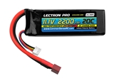 Lectron Pro 2200mAh 3S 11.1V 20C LiPoly Pack - Deans Connector