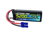Lectron Pro 3S 5200mah 11.1v 50c Lipo Battery With EC5