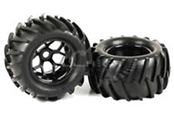 58140 wheels w/ tire for HSP monster truck