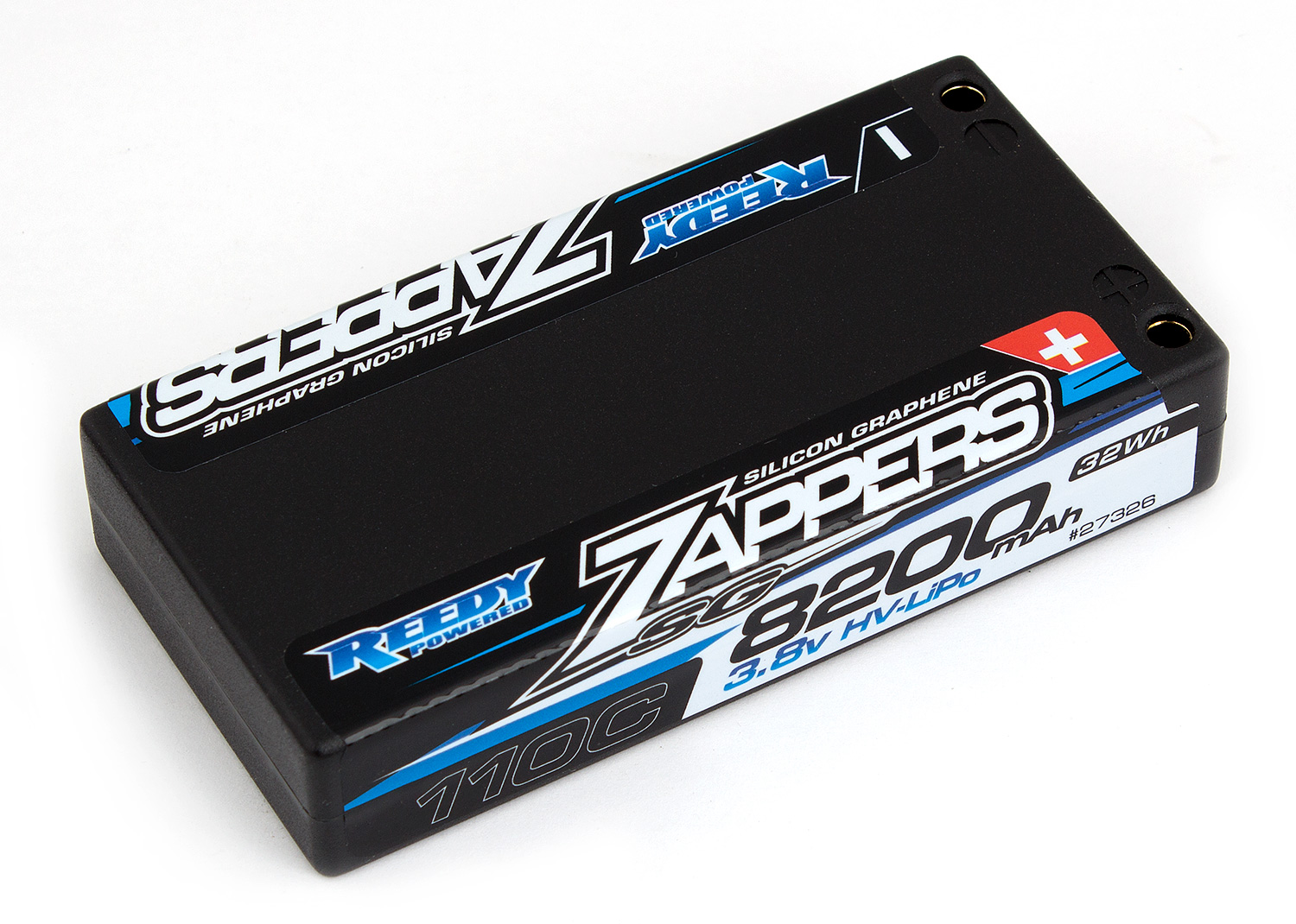 Reedy Zappers SG 8200mAh 110C 3.8V Lipo Battery, for 1/12 Scale