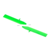 Blade Fast Flight Main Rotor Blade Set, Green: nCP X