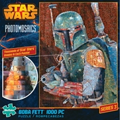 Star Wars Photomosaics Boba Fett 1000 PC Jigsaw Puzzle