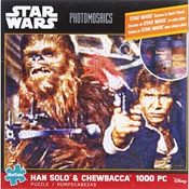 Photomosaic Star Wars Han Solo/Chewbacca 1000pc Puzzle