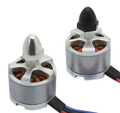 920kv Brushless Left And Right Motor Set