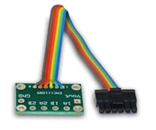 RoboteQ 12in. Encoder Cable and Transition Board for MDC2230, MDC2460 and XDC2230