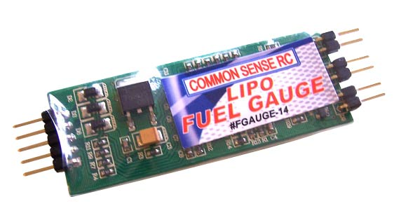 CSR Lipo Fuel Gauge LED Voltage Indicator