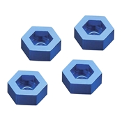 Aluminum Wheel Adapter To 12mm Hex Blue (4)
