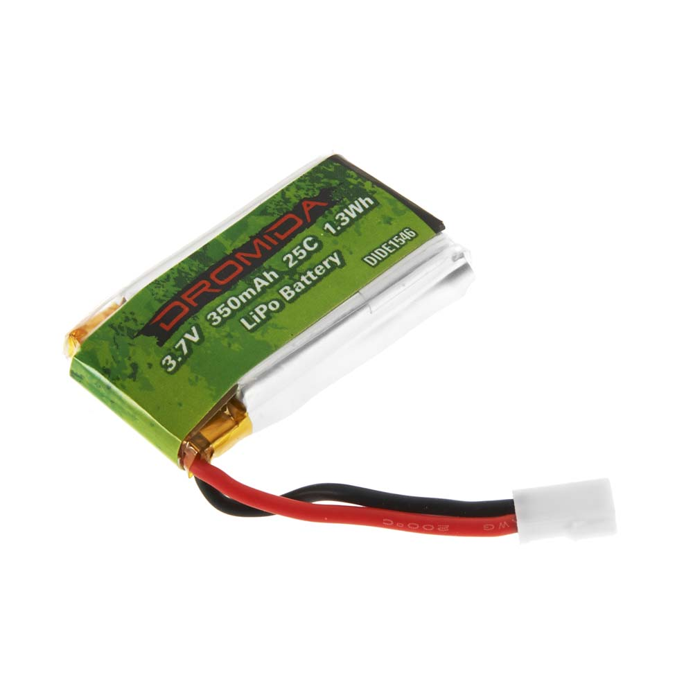 LiPo 1S 3.7V 350mAh Battery Verso Quadcopter