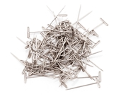 Dubro 100 Nickel Plated T-Pins Small 1in Long