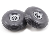 2 3/4 Inch Diameter Treaded Lite Wheel 2pk