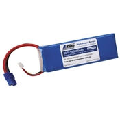 E-Flite 2100mAh 11.1V Triple Cell 3S 20C LiPoly Pack, 13g wire