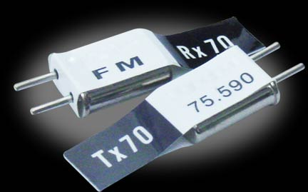 Futaba FM Dual Conversion Crystal Set Channel 62, 75.430