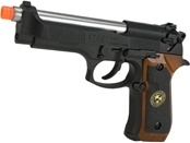 WE Custom Samurai Edge Biohazard M9 Limited Edition Airsoft Gas Blowback - Black