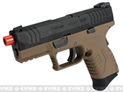 WE-Tech DM 3.8 Compact Airsoft GBB Pistol (Color: Dark Earth)
