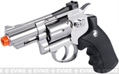 WinGun Full Metal 2 Airsoft CO2 Gas Non-Blowback Revolver - Chrome