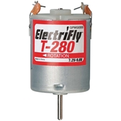 Great Planes ElectriFly T-280 7.2-9.6V Ferrite Motor