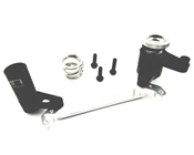 Adjustable Aluminum Steering Bellcrank and Servo Saver, Axial Yeti XL