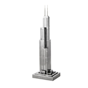 ICONX 3D Metal Model Kits - Sears Tower