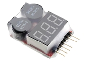 LiPo Voltage Checker and Cell Spy Warning Buzzer / Alarm