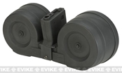 AIM 3000rd Electric Winding C-MAG Drum Mag for M4/M16 Series airsoft guns