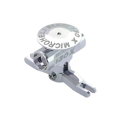 Microheli CNC Aluminum Main Rotor Hub with Button: Blade 130 X