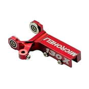 Microheli Aluminum Tail Gear Case (Square), Red: Blade 130 X