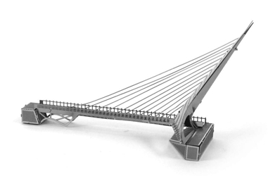Metal Earth: Sundial Bridge