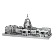 Metal Earth- United States Capitol - Silver Edition 2 Sheets