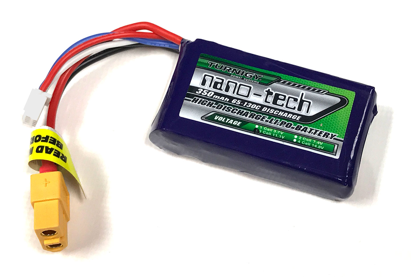 Turnigy Nano-Tech 350mAh 3S 11.1V LiPo - XT60 Connector