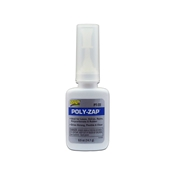 Poly ZAP Glue, 1/2 oz