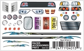 Dry Transfer Decals, Racer Accessories by Pinecar