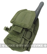 Phantom MOLLE Radio Pouch OD Green