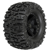 Rear Trencher 2.8 Mnt Desperado Blk Wheel: ST, RU