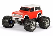1973 Ford Bronco Clear Body: 1/10 Rock Crawler