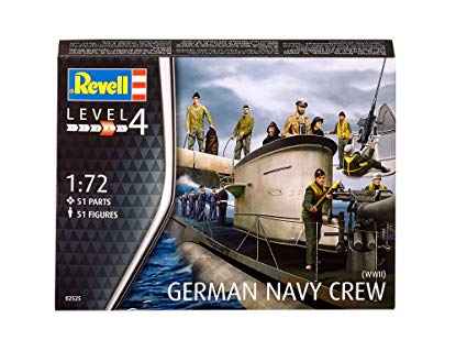WWII German Navy Crew 1:72 scale(Level 4)