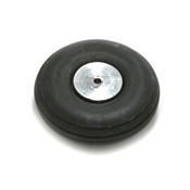 3/4 Inch Diameter Aluminum/Rubber Wheel-Rib Pattern