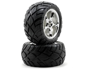 Traxxas 2478R Rear Tracer 2.2 Wheels with Anaconda 2.2 Tires (2)