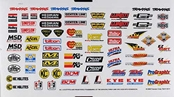 Traxxas 2514 Sponsor Decal Sheet