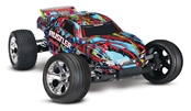 Rustler 1/10 Stadium Truck, Hawaiian Edition, RTR W/ iD Battery and Charger