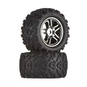 Blk Chrome Whl/MaxxTire(2):EMX