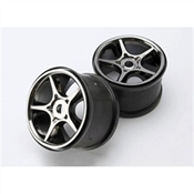 Gemini Black Chrome Wheel (2) 17mm